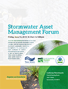 Stormwater Asset Management Forum flyer